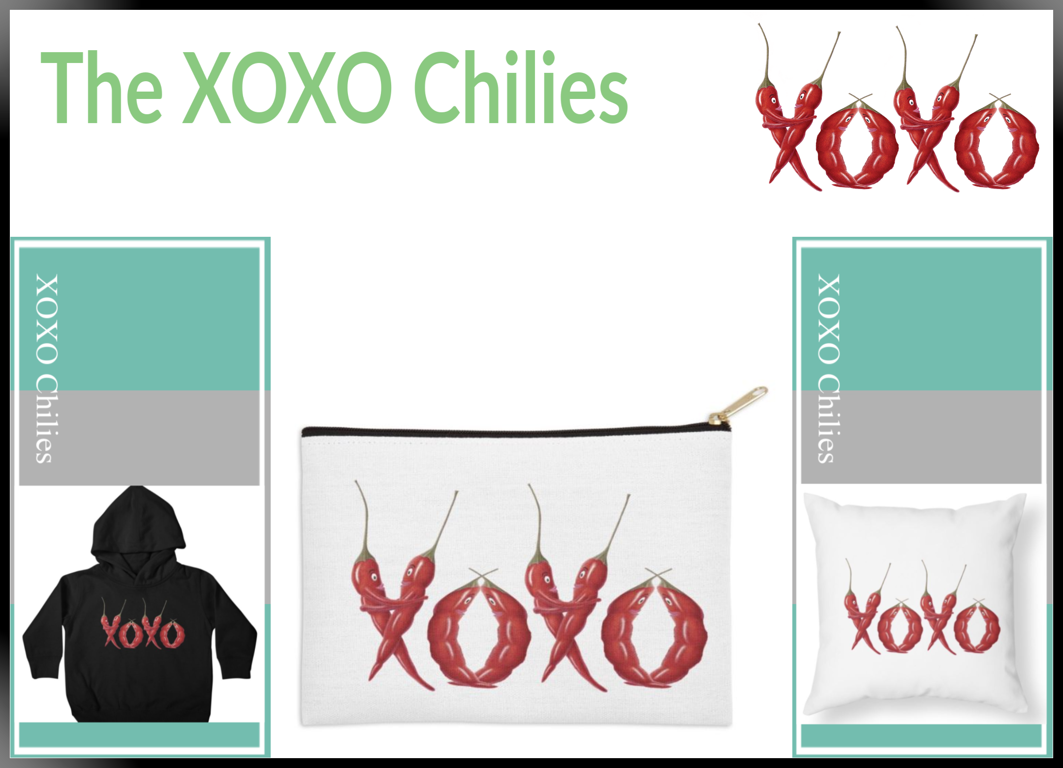 XOXO Chilies Collage3